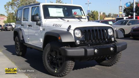 New Jeep Wrangler Unlimited Willys Wheeler