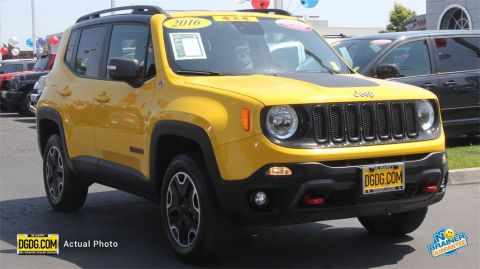 Certified Used Jeep Renegade Trailhawk