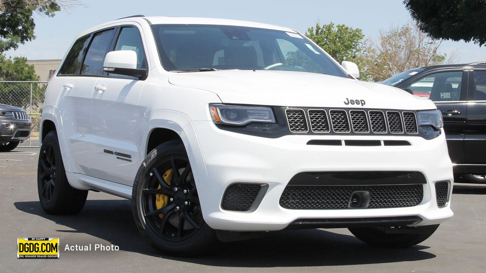 New 2018 JEEP Grand Cherokee Trackhawk Sport Utility in Newark ... 37818cc59b7