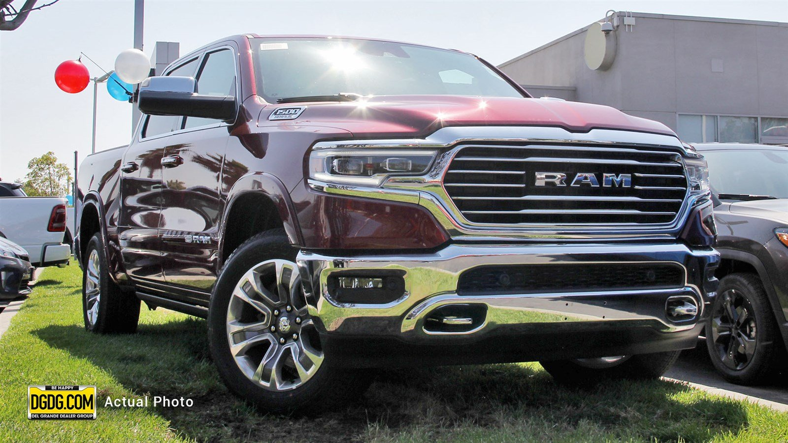 New 2019 Ram All New 1500 Longhorn Crew Cab In Newark D12233