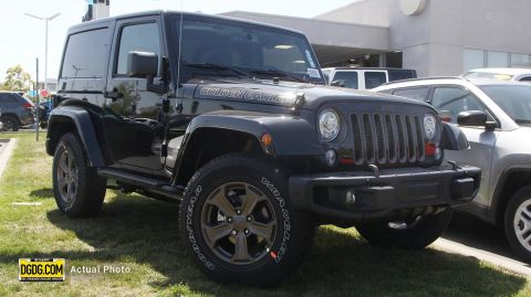NEW 2018 JEEP WRANGLER JK GOLDEN EAGLE 4X4