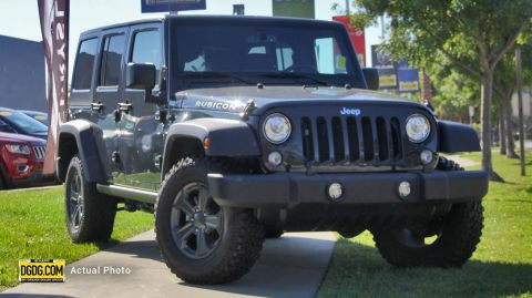 New 2017 JEEP Wrangler JK Rubicon