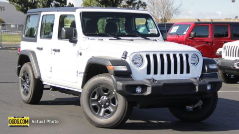 NEW 2020 JEEP WRANGLER UNLIMITED SPORT 4X4