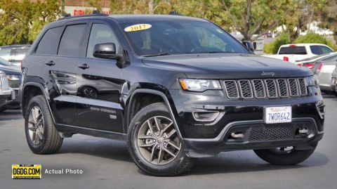 Pre-Owned 2017 Jeep Grand Cherokee 75th Anniversary Edition Sport Utility
