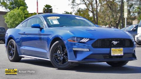 2018 FORD MUSTANG ECOBOOST RWD 2D COUPE