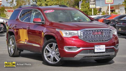 2017 GMC ACADIA DENALI WITH NAVIGATION & AWD