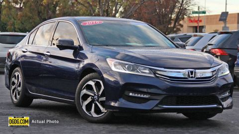 2016 HONDA ACCORD EX-L FWD 4D SEDAN