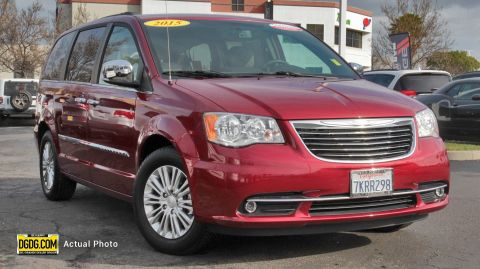 2015 CHRYSLER TOWN & COUNTRY TOURING-L FWD 4D PASSENGER VAN