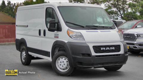 "NEW 2019 RAM PROMASTER 1500 CARGO VAN LOW ROOF 118"" WB"