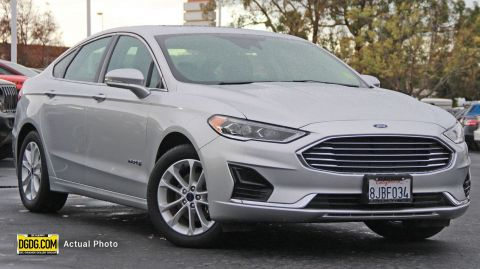 2019 FORD FUSION HYBRID SEL WITH NAVIGATION
